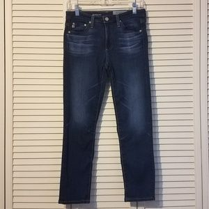 AG Adriano Goldschmied prima crop jeans